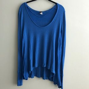 Free People We the Free Thumb Holes Thermal Top